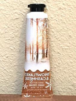 1 BATH & BODY WORKS SNOWFLAKES & CASHMERE HAND CREAM TRAVEL