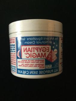 1 Jar Egyptian Magic All Natural Skin Moisturizing Cream 4oz