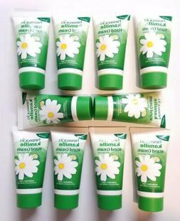 10 Tubes of Kamille Hand Cream by Herbacin With Glycerine  B