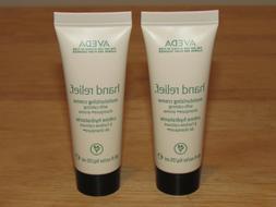 2 Aveda Hand Relief Moisturizing Creme Cream Total 1.7 Oz 50