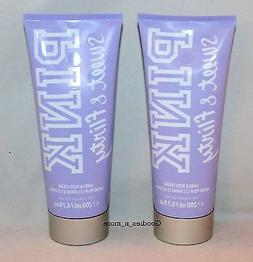 2 New Victoria's Secret PINK SWEET & FLIRTY Hand & Body Crea