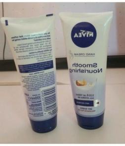 2 Nivea Smooth Nourishing Hand Cream Hydra IQ Macadamia Dry