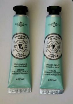 2 x La Chatelaine 20% Shea Butter Hand Cream Coconut Milk 0.