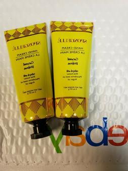 2 X SPONGELLE Hand Cream Coconut Verbena New Sealed 2 oz