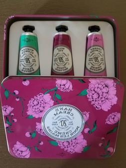 La Chatelaine 20% Shea Butter Hand Cream Tin Gift Set with O