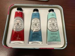 La Chatelaine 20% Shea Butter Hand Cream Tin Gift Set of 3 *