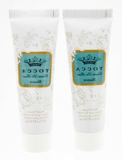 2x TOCCA Crema da Mano Bianca Hand Cream 0.33 fl oz / 10 ml