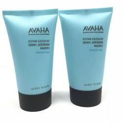 2x Ahava Dead Sea Water Mineral Hand Cream 40 mL / 1.3 fl oz