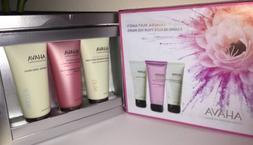 AHAVA 3 Mineral Must Have's Full Size Hand Cream Trio Set BO