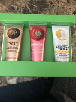 3 New The Body Shop Hand Creams 1 Fl Oz Each