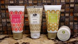 3 pc Origins Ginger Gift Set -Body Cream, Scrub, Hand Cream