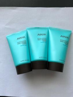 3X AHAVA Deadsea Water Mineral Hand Cream Sea-Kissed 1.3 oz