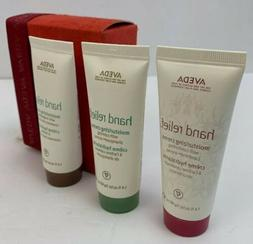 3x- Aveda Skin Hand Relief Moisturizing Cream 1.4oz /40ml 3