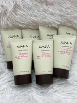 4 Pcs ~ Ahava Deadsea Water Mineral Hand Cream Sea-Kissed 40