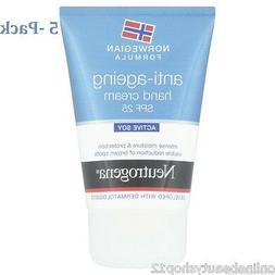 5 x Neutrogena Norwegian Formula Anti Ageing Hand Cream SPF2