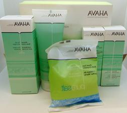5pc Ahava DeadSea Minerals Shower Gel Foot Hand Cream Body L