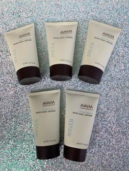 5x Ahava Deadsea Water Mineral Hand Cream - 40ml/1.3oz Each