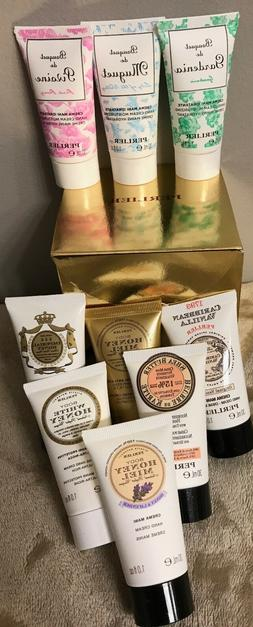 Perlier 9 piece Hand Cream Mini Honey Peony Imperial Shea NI