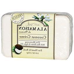 A La Maison de Provence, Hand & Body Bar Soap, Coconut Cream