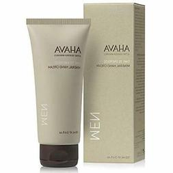 AHAVA Men's Dead Sea Mineral Hand Cream, Time To Energize -