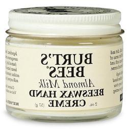 Burt's Bees Almond Milk Beeswax Hand Creme 2 oz / 57 g
