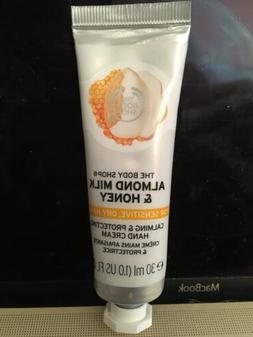 The Body Shop Almond Milk Honey Hand Cream for Sensitive, Dr