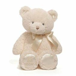 Baby Gund My First Teddy Bear Stuffed Animal Plush, Cream, 1