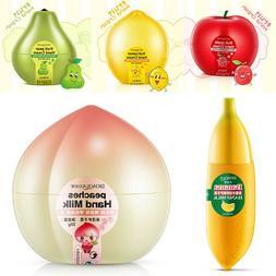 Banana Peach Fruit Hand Milk Cream Lotion Moisturizing Skin