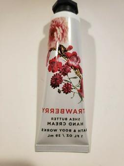 Bath & Body Works Hand Cream 1 oz Shea Butter Strawberry