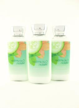 Bath Body Works 3 Cucumber Melon Body Lotion Hand Cream Shea