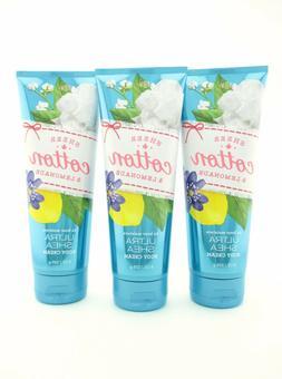 Bath Body Works 3 Sheer Cotton Lemonade Ultra Shea Body Crea