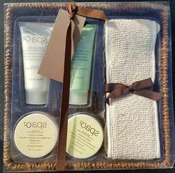 Bath Gift Set Spa o2 Body Lotion Scrub Hand & Nail Cream Bat