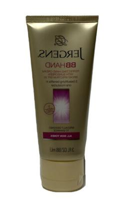 JERGENS BB Hand Perfecting Cream For All Skin Tones 3 oz EXP
