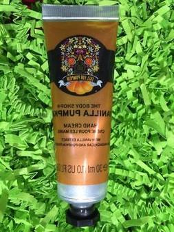 BODY SHOP Vanilla Pumpkin Hand Cream 1oz/30mL Limited Editio