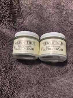 Burt's Bees Almond & Milk HAND CREAM 2 oz