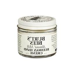 Burt's Bees Almond Milk Beeswax Hand Cream, 2 oz