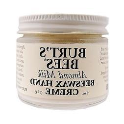 Burt's Bees Almond Milk Beeswax Hand Cream 2oz 57g Hands & N