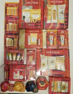 Burt's Bees Assortment Lip Balm Face Essentials Travel Kit H