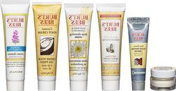 Burt's Bees Travel Size Skin Care Kit 6 Set Hand Body Lotion