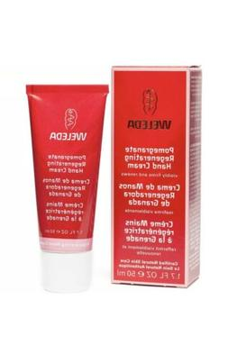 Weleda Body Care 1.7 Oz Pomegranate Regenerating Hand Cream