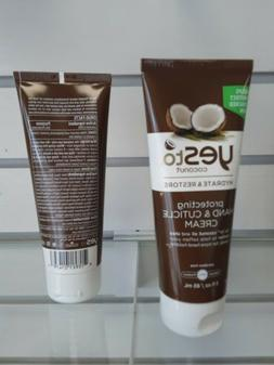 coconut hydrate and restore protecting hand