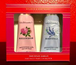 Crabtree & Evelyn LAVENDER & ROSEWATER Hand Therapy FLORAL D