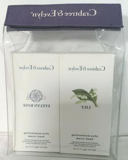 Crabtree & Evelyn Lily & Evelyn Rose Hand Cream Gift Set 3.5