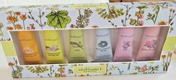 Crabtree & Evelyn London 6 Pc Mini Hand Lotion Gift Set 0.9