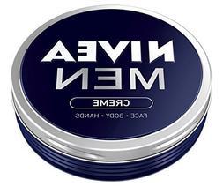 2x Nivea MEN CREME Cream FACE HAND BODY Moisturiser Dry Skin