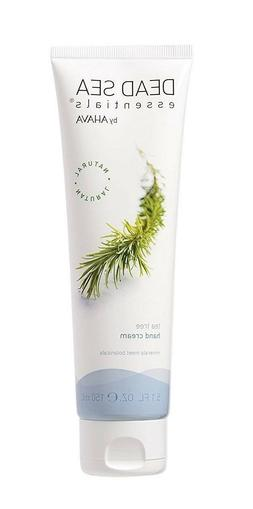 Dead Sea Essentials By AHAVA  TEA TREE HAND CREAM 5.1 Fl Oz-