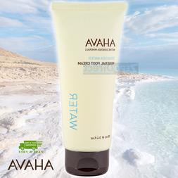 AHAVA Dead Sea Water Mineral Foot Cream 100 ml 3.4 fl. oz