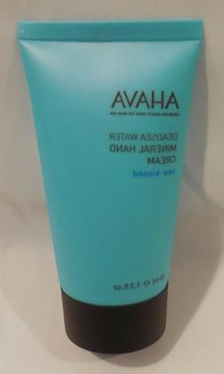 "AHAVA Deadsea Water Mineral Hand Cream 1.3oz ""Sea-Kissed"" SE"
