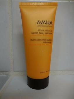 AHAVA Deadsea Water Mineral Hand Cream  3.4 Fl Oz NEW Mandar