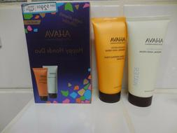 AHAVA Deadsea Water Mineral HAND CREAM SET NEW 3.4 Fl Oz EAC